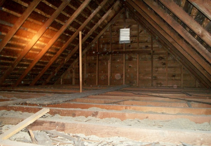 attic cleaning Oceanside